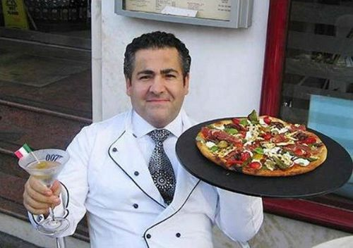 Pizza Chef Domenico Crolla